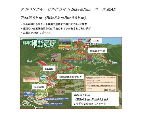 MAP東伊豆ヒルクライムコース
